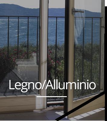infissi legno e infissi alluminio